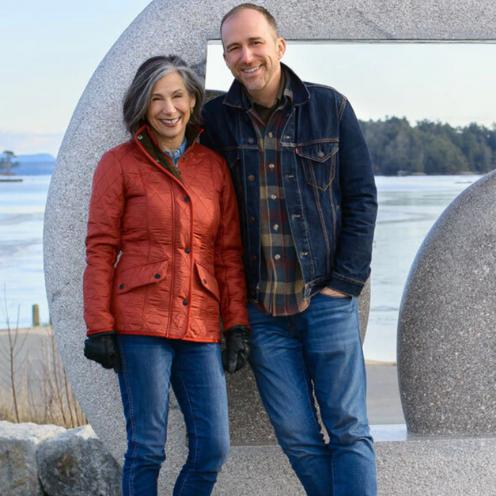 Lorie Dechar and Benjamin Fox